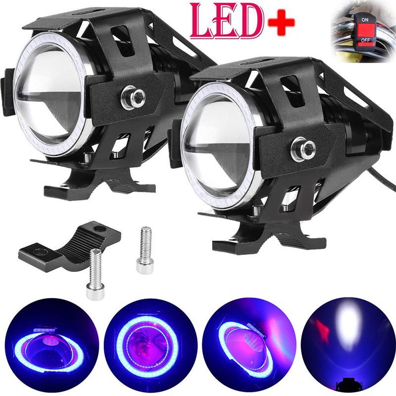 7'' 35W Motorcycle H4 Halogen Headlight Halo Lamp LED TurnSignal FOR Honda Light | Shopee Malaysia