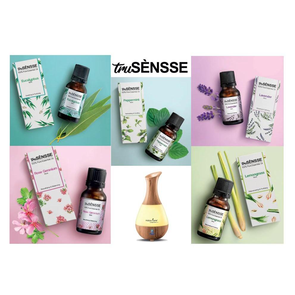 💥HOT ITEMS💥Tupperware truSENSSE 100% Pure Essential Oil 15ml /Tupperware Florea 3-in-1 Aroma Diffuser 200ml