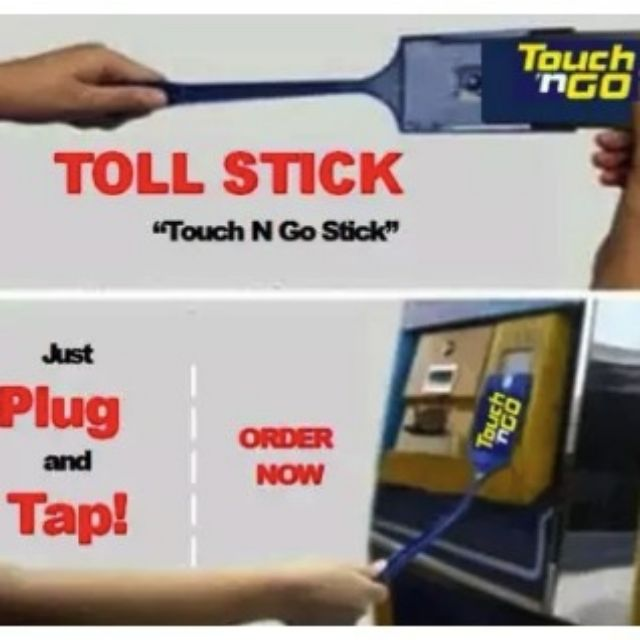 Touch N Go Stick Tol Toll Gate Card Holder Toll Stick For Parking Gated Shopee Malaysia