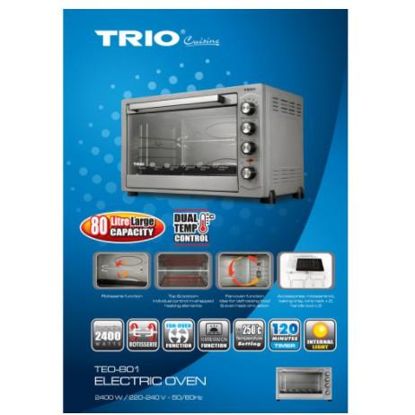 TRIO 80L Electric Oven TEO-801