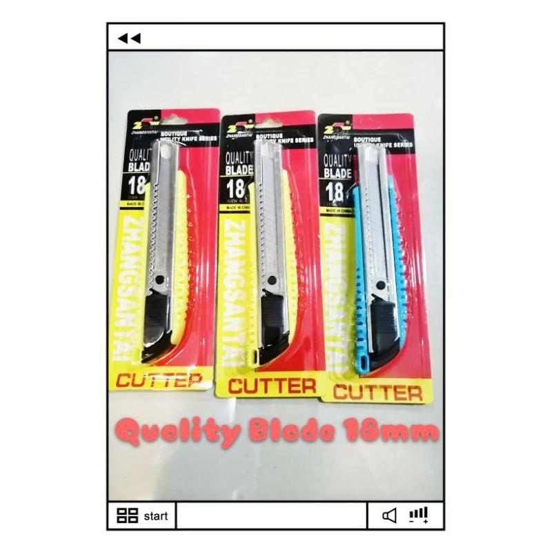 1pcs 18mm Premium Quality Utility Knife Cutter good Quality large size pisau
