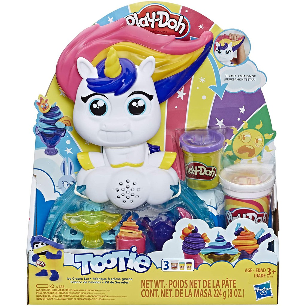 Play-Doh Tootie The Unicorn Ice Cream Play Set
