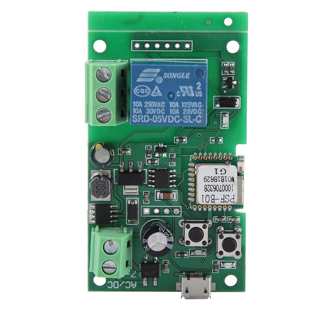 50Hz Wireless WiFi Smart Switch Inching Self Locking Relay