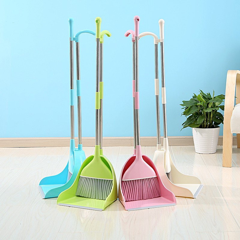 Korean version of high quality plastic broom dustpan set broom combination  soft