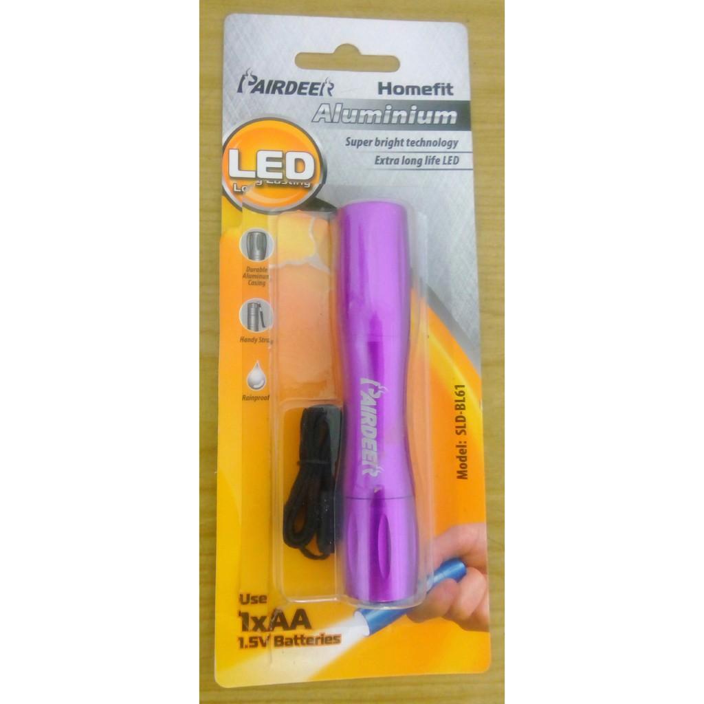 Purple Pairdeer LED Torch Light SLD-BL61