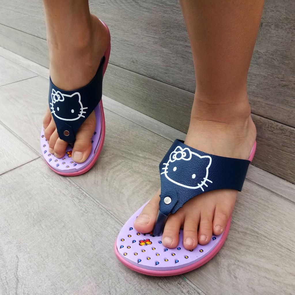 SHL Hello Kitty Lovely Girls Casual Kasut Slipper 933