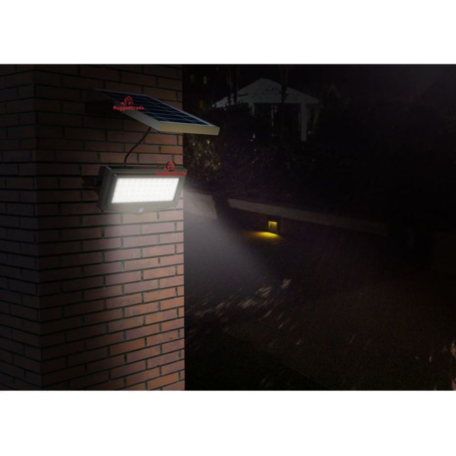 SOLAR LED FLOOD LIGHT, OUTDOOR WATERPROOF STREET LIGHT