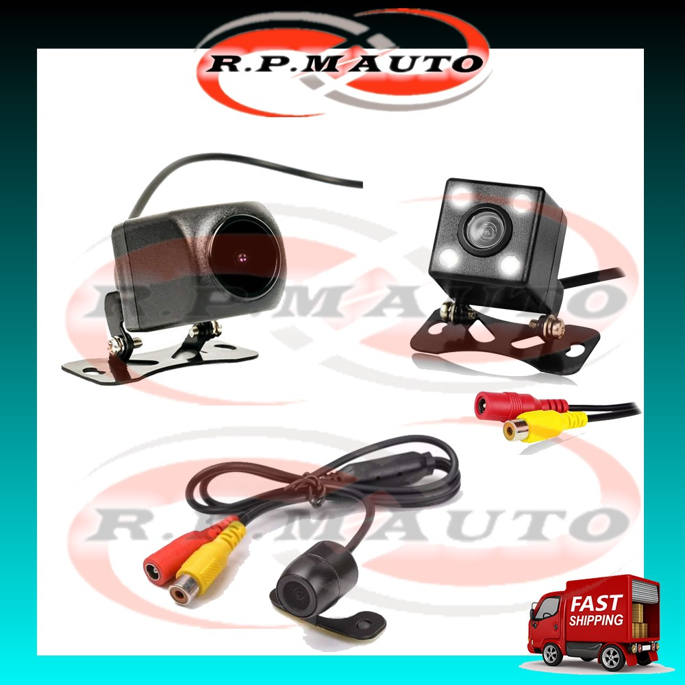 Car Rear View Reverse Camera Parking Camera LED / AHD / Butterfly 170 Degree Wide Angle Water Proof HD Camera