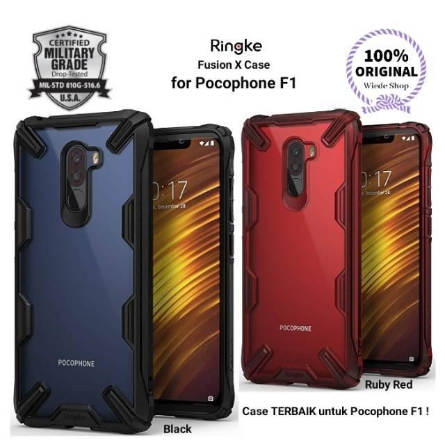 sneakers for cheap 3dfc3 072ec Xiaomi Pocophone F1 - Ringke Fusion-X Fusion X Poco F1 Case Cover