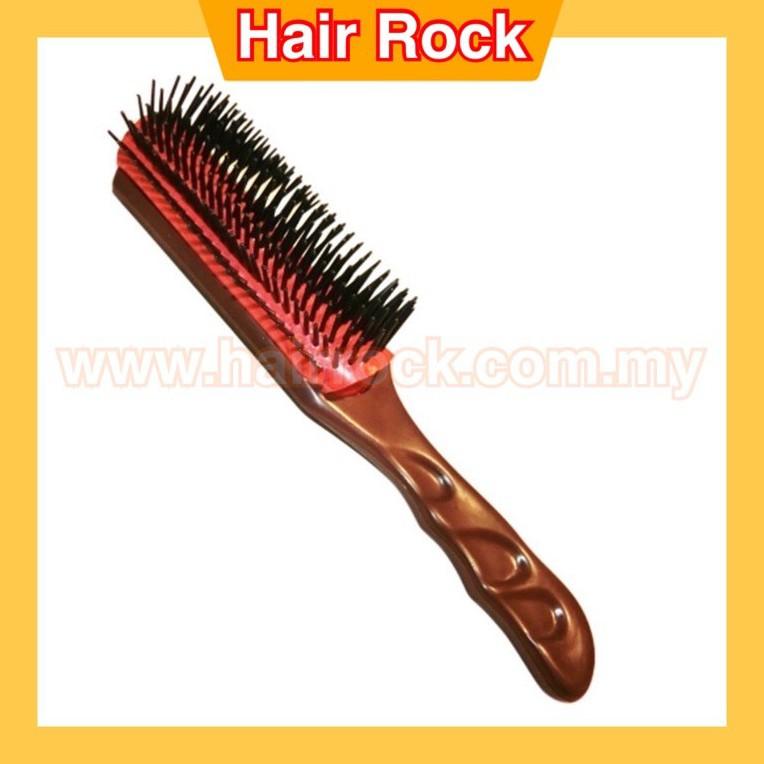 NEKPro Dateline Anti-Static 9 Row Styling Hair VESS Brush