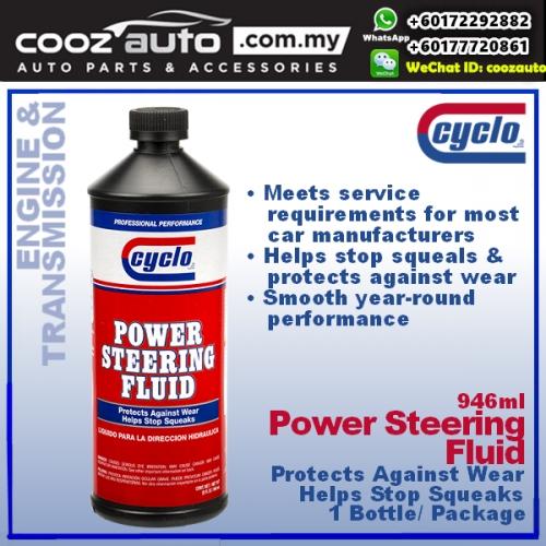 Cyclo Power Steering Fluid, Heavy Duty Formula (1 Bottle)