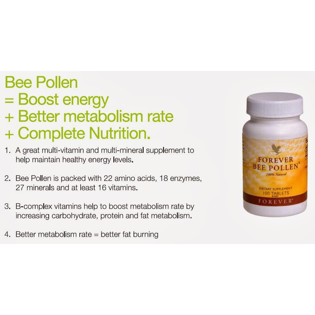 Forever Bee Pollen PLUS (Male*Energy Booster!)😱