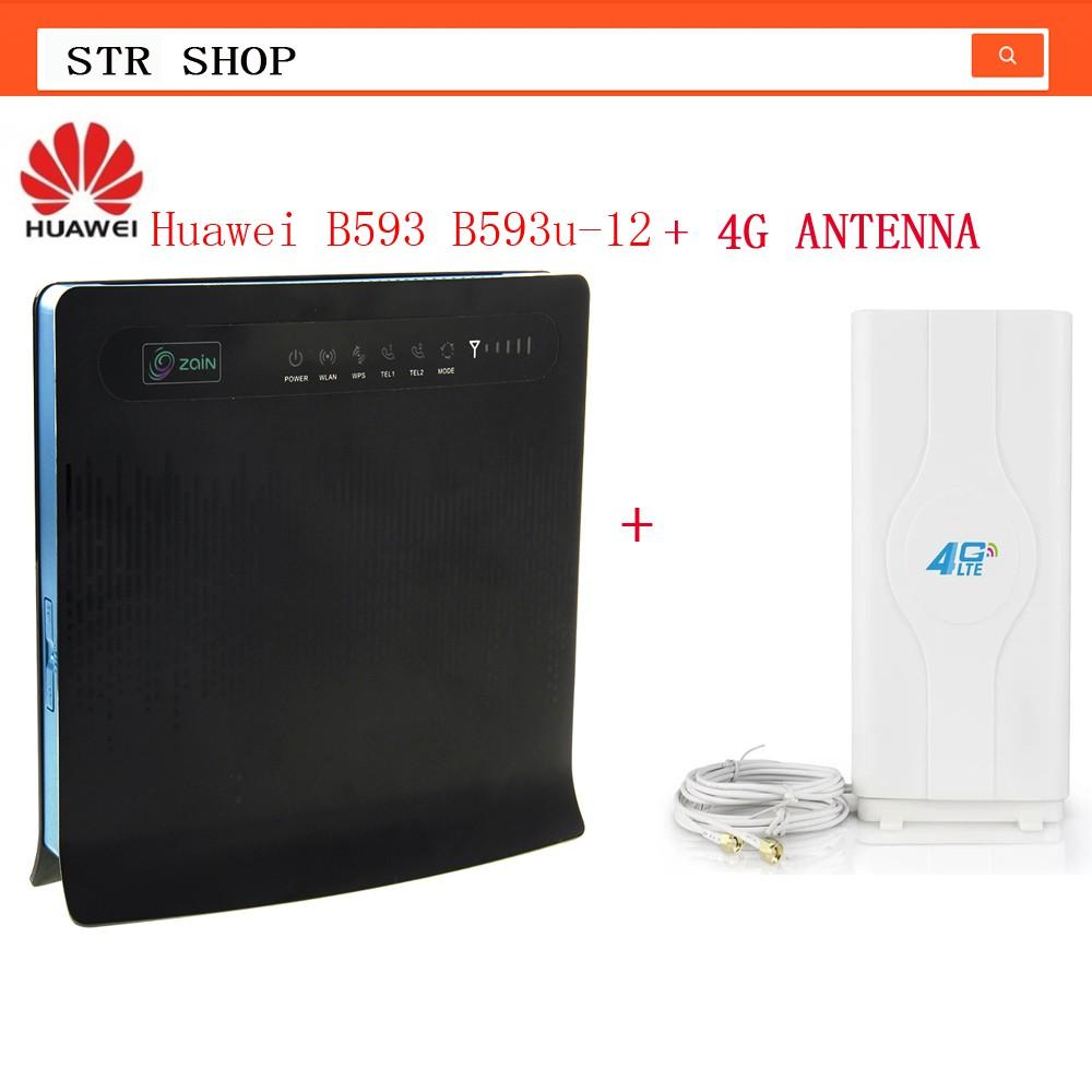 Huawei B593 B593u-12 Antenna 4G LTE 100Mbps CPE Router +88DBI Antenna