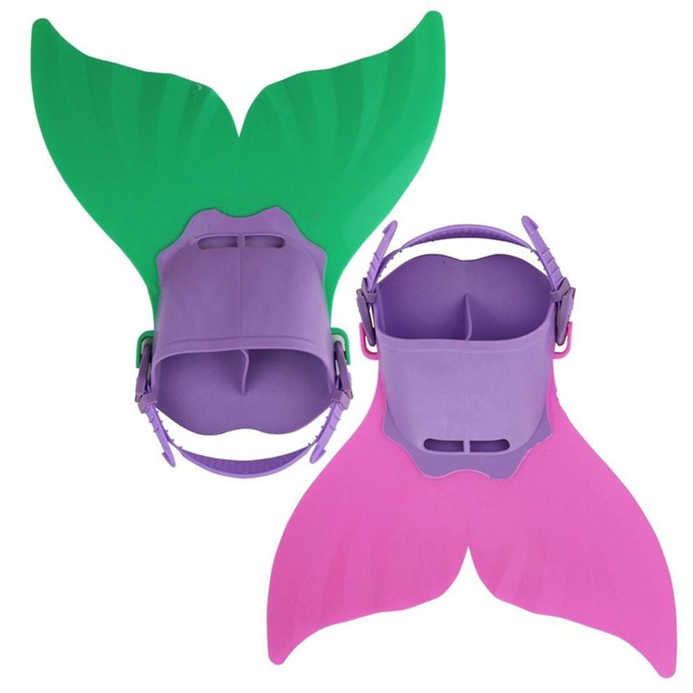 e3a08de0e4 Swimming Costume Kids Swimmable Monofin Mermaid tail Mono Fin Flippers
