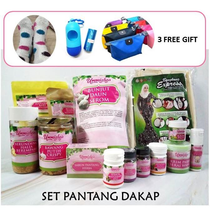Set Pantang Dakap by UmmiAlya l Ibu Bersalin l Mummy Postnatal Care and Supplements + Free Gifts
