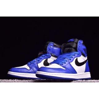 ab819be866 NIKE Air Jordan 1 OG High Top Chicago Blue Aj1 Basketball Shoes Men ...