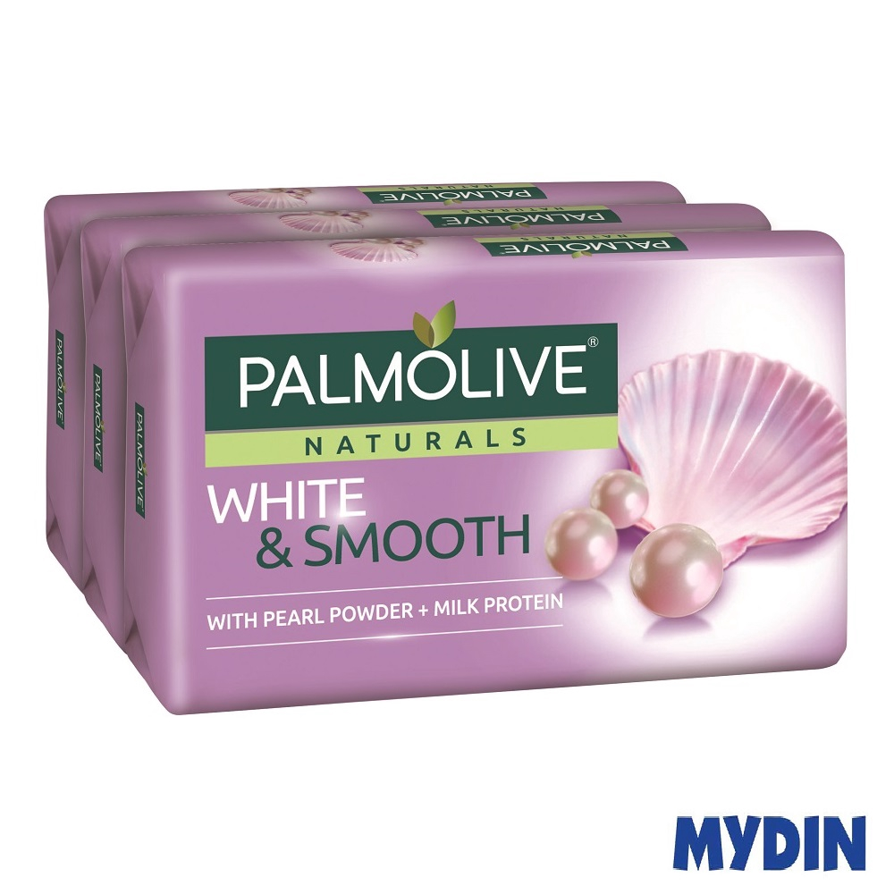 Palmolive Naturals White & Smooth Pearl Powder & Milk Protein (80g)
