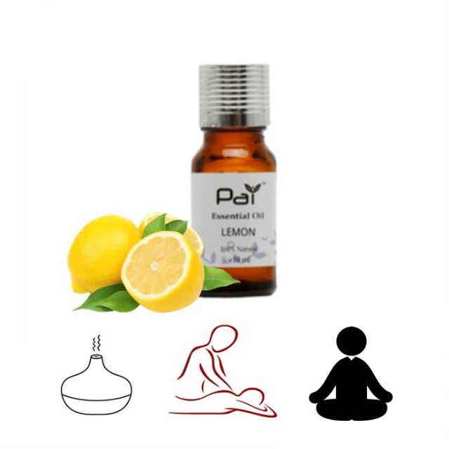 MALAYSIA: AROMA TERAPI UNTUK DEPRESSION KEMURUNGAN, TEKANAN STRESS,INSOMNIA/ PAI Essential Oil (Lemon) 10ml