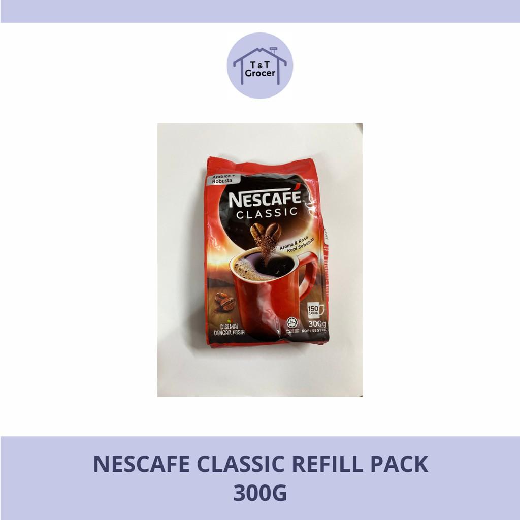 Nescafe Classic Refill Pack (300g/ 500g)