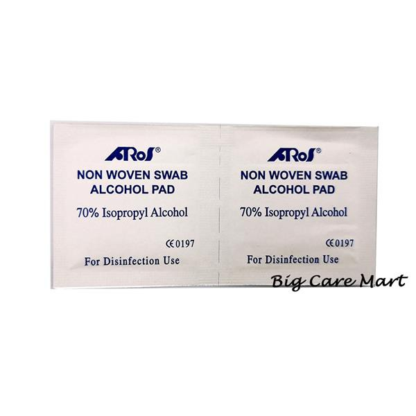 ALCOHOL SWAB 100S X 10box (COTTON WITH ALCOHOL)
