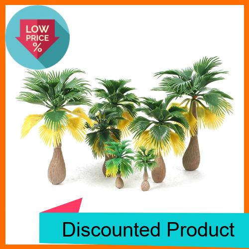 Great Discount 15pcs Miniature Landscape Scenery Layout Model Train Palm Trees Rain Forest Scale 1: 100-1:300