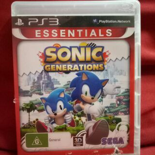 PS3 SONIC GENERATIONS | Shopee Malaysia