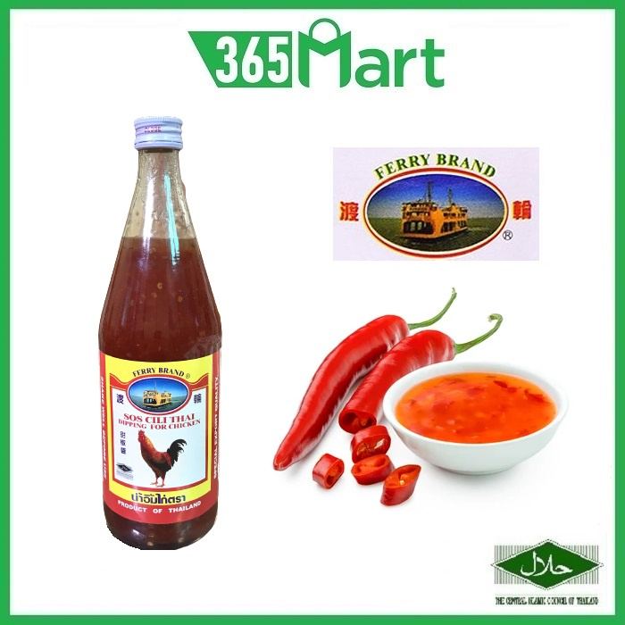 FERRY BRAND Thai Chili Sauce 750ml Dipping for Chicken HALAL Sos Cili Thai by 365mart 365 Mart
