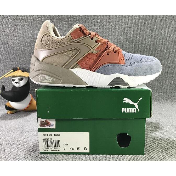 Original Original Puma X BTS Smash women s shoes Breathable Sneakers  Badminton Shoes  85826593b