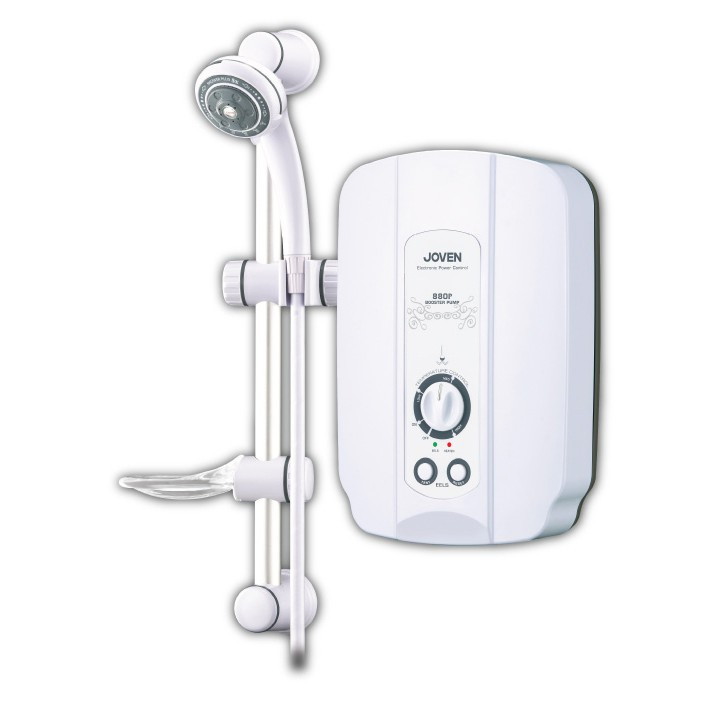 880P (White) Joven Instant Water Heater With Pump 880 Series