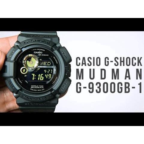 Casio G Shock G9300-1 Mudman Red Eye  335104275a