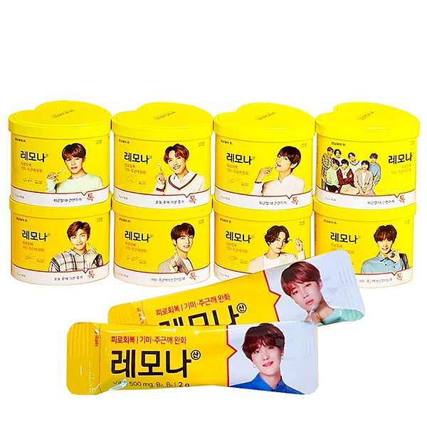 BTS LEMONA Vitamin C 2gx60pack | Shopee Malaysia
