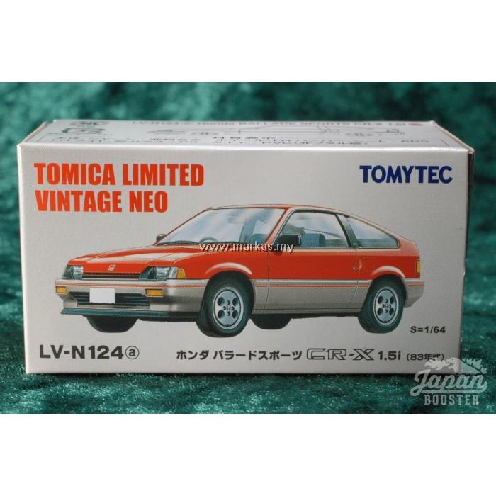 TOMICA LIMITED//TOMYTEC LV-N124 Honda Ballade Sports CR-X 1.5i 1:64 Honda CR-X