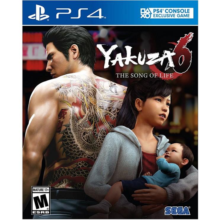 PS4 Yakuza 6: The Song of Life R3 English