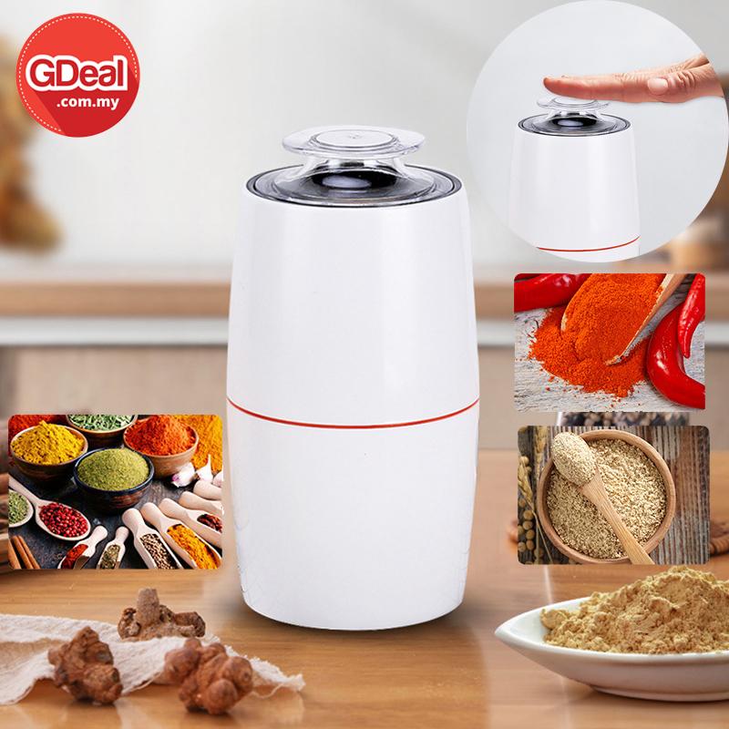 GDeal Multifunction Grain Grinder Machine Electric Coffee Bean Grinder Nut Spice Grinding Household Grinders