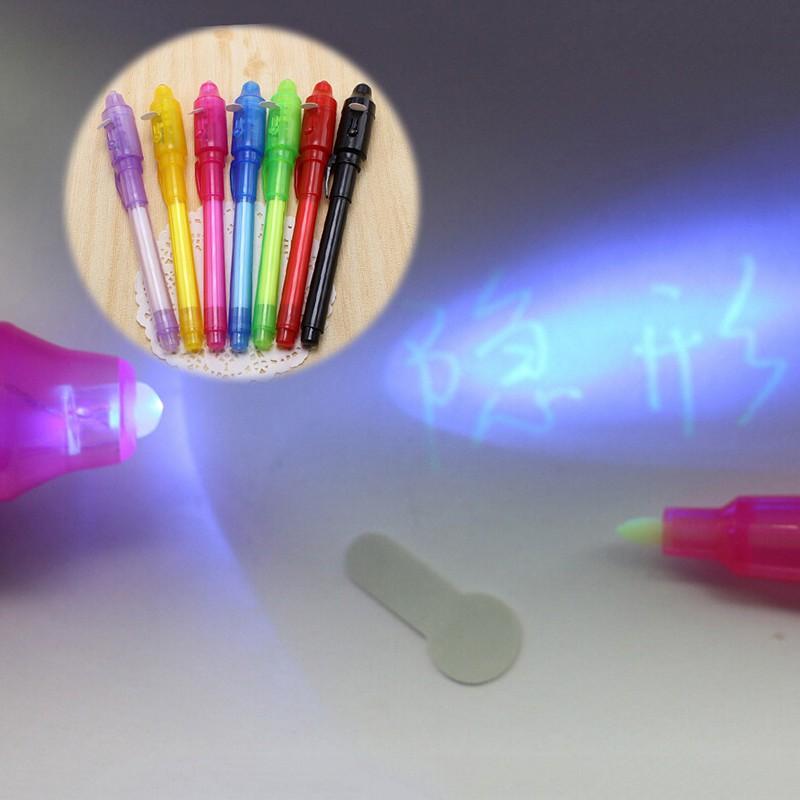 ปากกาหมึกล่องหน แสงUV