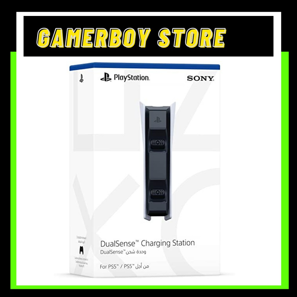[READY STOCK] PS5 DUALSENSE CHARGING STATION CONTROLLER