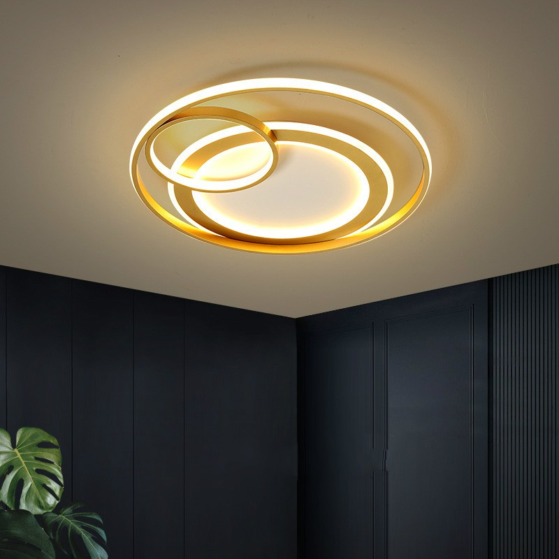 Master Bedroom Lights Ceiling Lights Creative Personality Light Luxury Room Lights Round Simple Modern Led Lights Shopee Malaysia