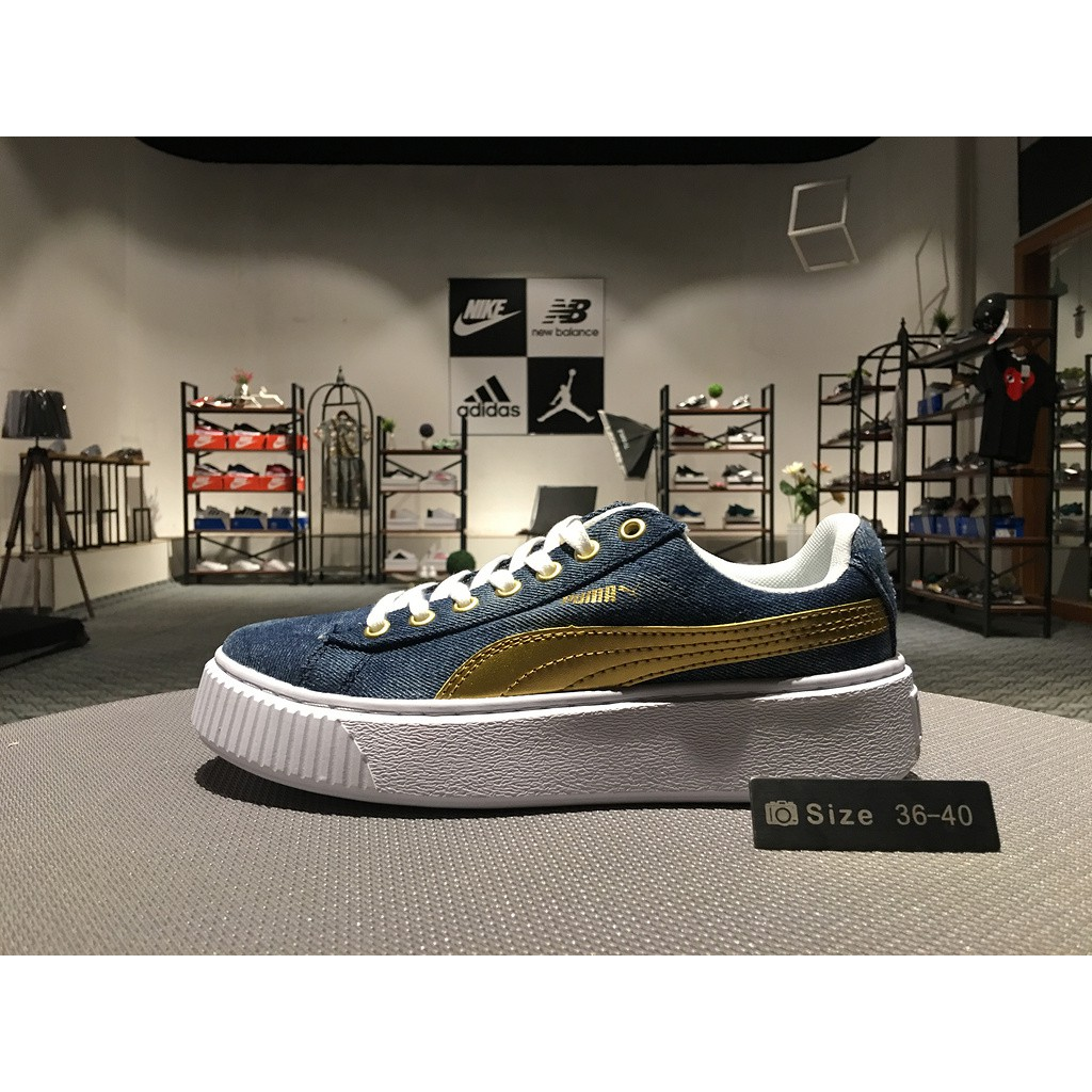 info for d3bee 9b7c1 Ready stock PUMA clyde x atmos T.T.T sneakers runnning shoes women
