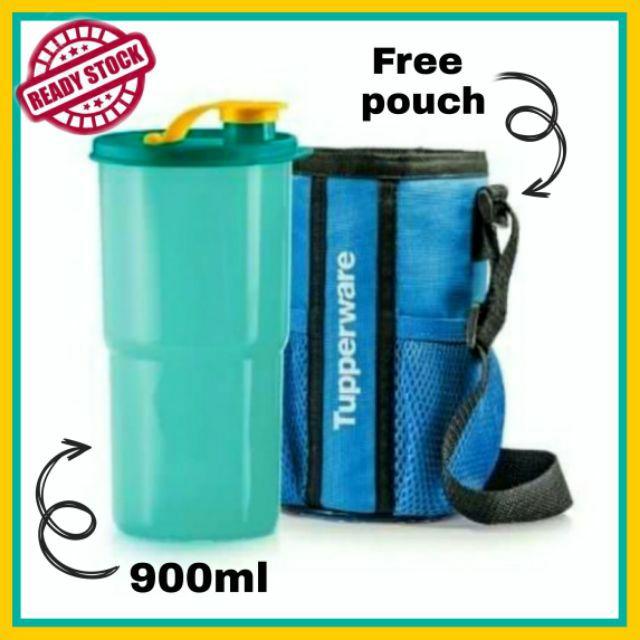 🔥READY STOCK🔥Tupperware Thirstquake Tumbler with Pouch (1) 900ml