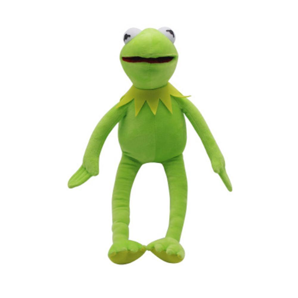 "Eden Full Body Kermit The Frog Hand Puppet Exclusive 16/"" Designer Plush Doll"