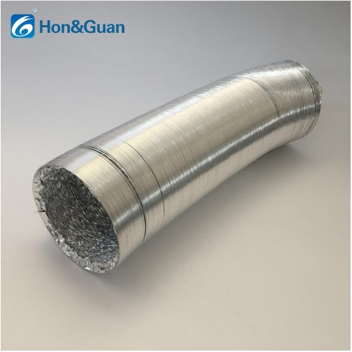 Aluminum Flexible Pipe Hose Easy-to-install Ducting Air Ventilation Various Size