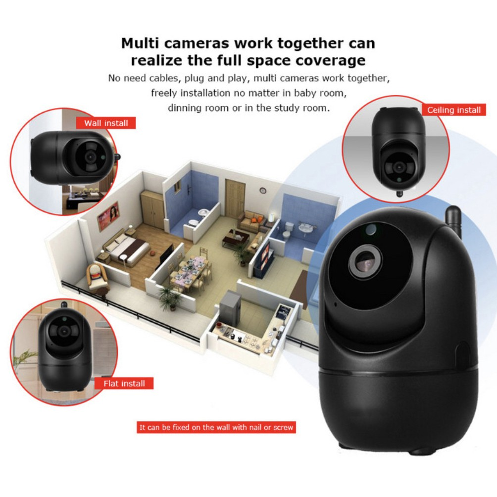 🔥HOT DEAL🔥Automatic Tracking Wireless Camera Wi-Fi