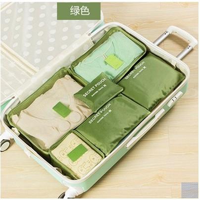Luggage Travel Packing Organizer Storage Bag (6 in 1)