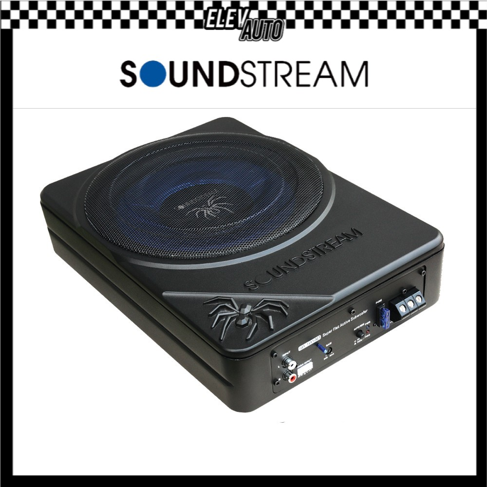"""Soundstream Active Subwoofer with 1 Channel (10"""") DSP SB.101AD"""