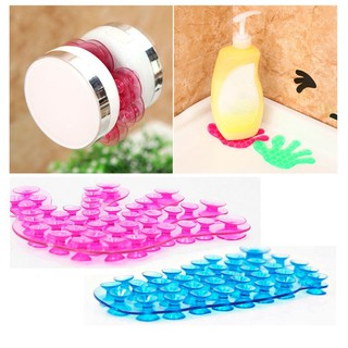 Vacuum Sucker Suction Cup 2PCS Strong Double Sided Sucker Palm Foot Shape