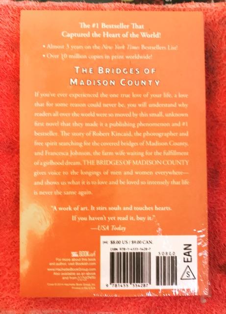 【Ready Stock】The Bridges Of Madison County