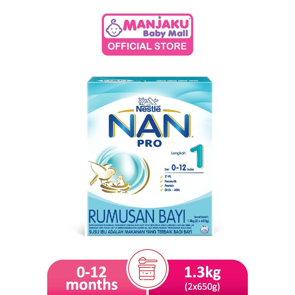 Nestle Nan Pro Step 1 (2 x 650g)