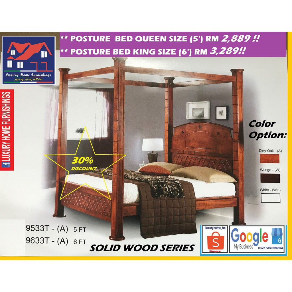 SOLID WOOD BED COLLECTIONS C