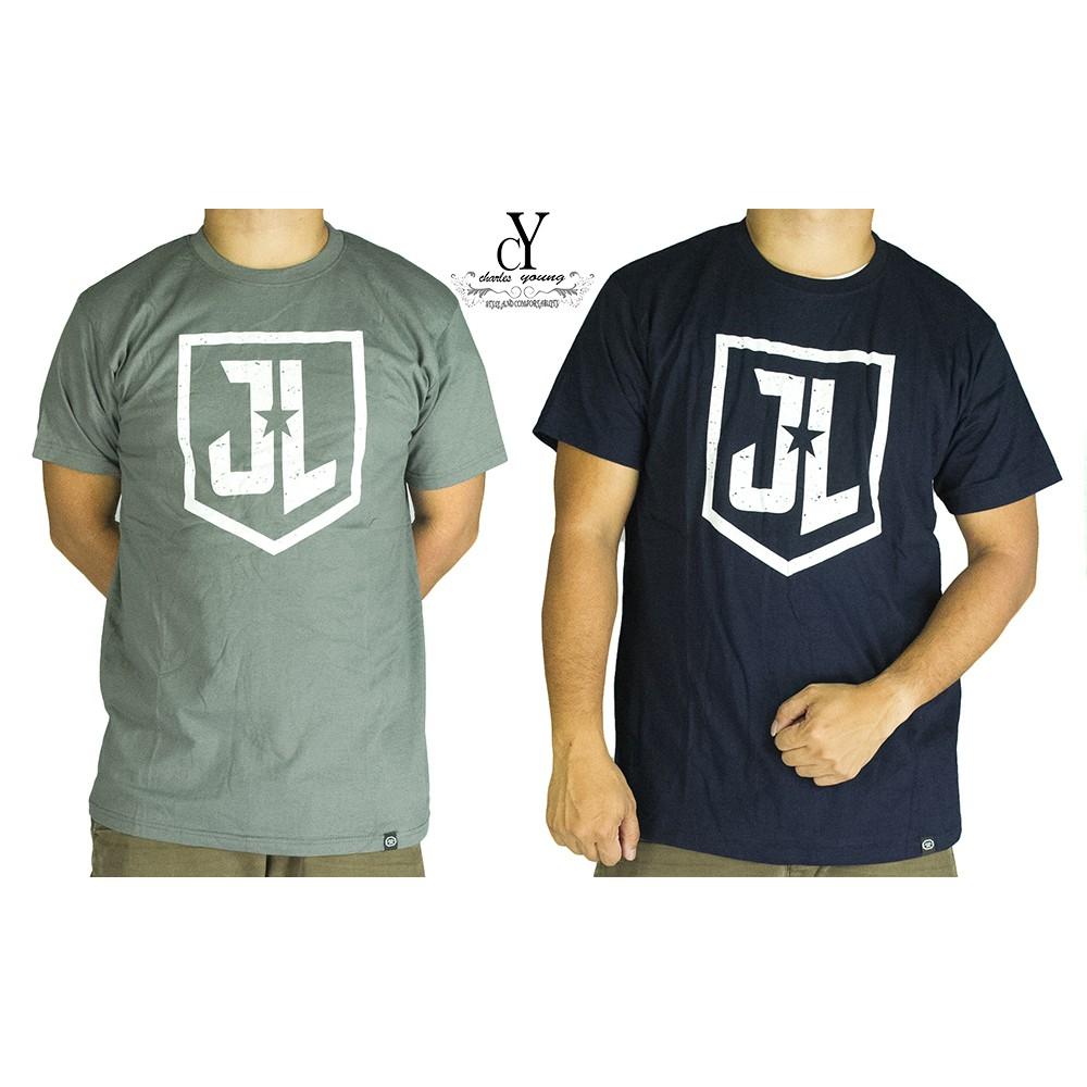 Justice League Superhero Luminous T Shirts Shopee Malaysia
