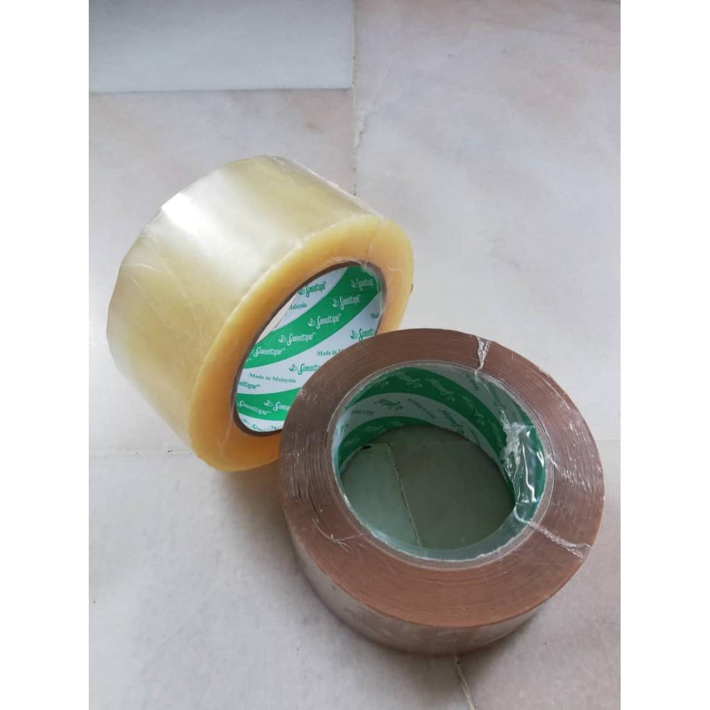 Sweettape OPP Tape (Brown/Clear) 6 roll